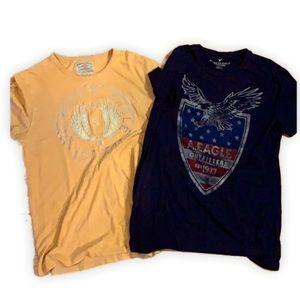 2 American Eagle tee shirts Medium